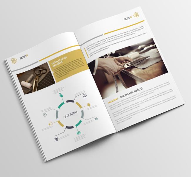 thiết kế báo cáo thường niên tại tphcm
